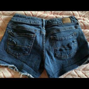 America Eagle short shorts